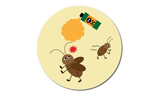 ゴキブリ駆除・消毒